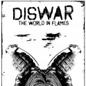 """DISWAR """"The world in flames"""" LP"""